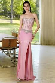 us 164 99 acgowns style 6104 pink corset bodice with beads accent