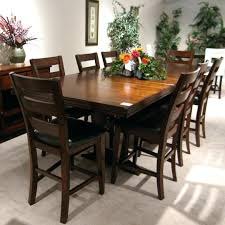 bar height dining room sets pub chairs counter with storage table