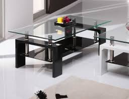Coffee Tables Black Glass Table Glass Coffee Table 4334 1 Glass Coffee Table Modern Glass