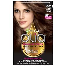garnier olia oil powered permanent hair color 5 0 medium brown