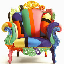 Post Modern Furniture by Poltrona Di Proust Alessandro Mendini Postmodern Art Armchair