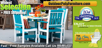 outdoor poly wood furniture recycled poly lumber better than wood