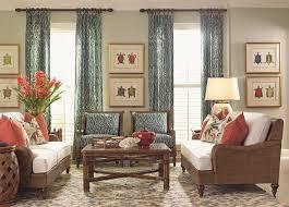 Tommy Bahama Home Bali Hai Harborside Sofa With Woven Dark Wicker - Tommy bahama style furniture