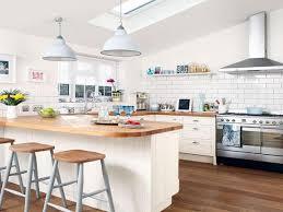 lighting kitchen with pendant lights glossy tiles original