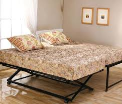 metal daybed frame with pop up trundle trundle bed daybed frame