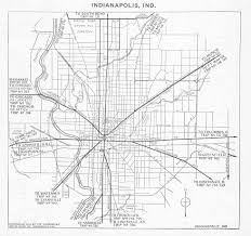 Map Indianapolis How Early Roads Shaped Our Lives Cruise In Com