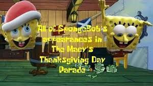 spongebob squarepants macy s thanksgiving day parade wiki