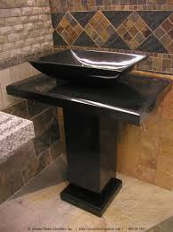Bathroom Pedestal Sinks Ideas by Stone Pedestal Sink Befon For