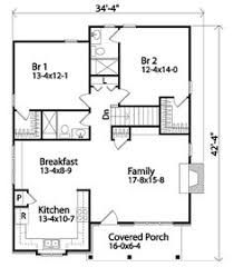 One Room Cottage Floor Plans Small Open Floor Plan Sg 947 Ams Great For Guest Cottage Or