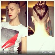 upside down v shape haircut best undercut hairstyles for women