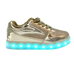 galaxy shoes light up galaxy led shoes light up usb charging low top kids sneakers gold