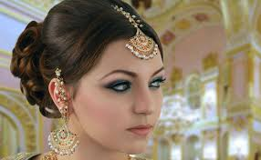 turquoise and pink indian bridal makeup tutorial asian stani arabic traditional look middot arabic eye makeup