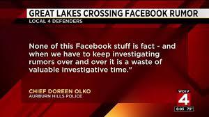 address rumor that great lakes crossing is
