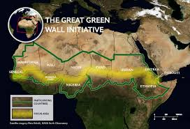 Sahel Desert Map The Great Green Wall National Geographic Society
