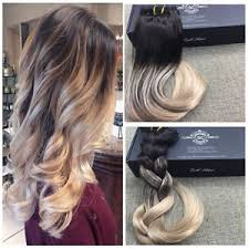 balayage hair extensions 14 22 ombre balayage clip in remy human hair extensions black to