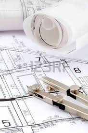 an architect u0027s blueprint for the construction of a new residential