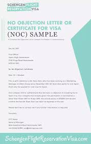 how to write no objection letter what are some examples