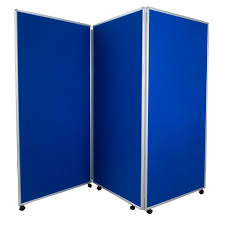 mobile room dividers aluminium frames mobile folding display panels in different sizes