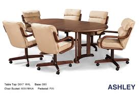 Dining Tables  Pottery Barn Dining Bench Broyhill Formal Dining - Dining room chairs with rollers