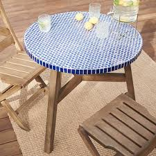Mosaic Bistro Table Mosaic Dining Room Table Interior Design