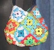 tutorial piastrelle uncinetto come fare una borsa facile con le mattonelle a uncinetto