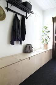 hallway bench with storage baskets white hall bench storage with