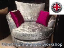 Swivel Cuddle Chair Cuddler Chair Sofas Armchairs U0026 Suites Ebay