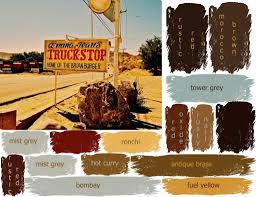 truck stop color palette photo inspiration for a new invitation