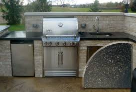 outdoor kitchen faucets gripping barbecue outdoor kitchen design with weber stainless
