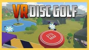vr disc golf my favorite vr multiplayer game rec room youtube