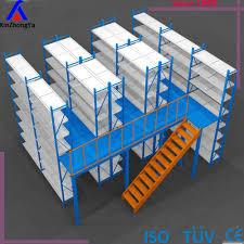 warehouse industry storage steel structure mezzanine floor