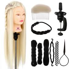 hairstyles to do on manikin 26 inch hairdressing wig mannequin head hair hairstyle training