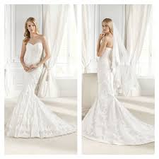 la sposa brautkleid die besten 25 lace fishtail wedding dress ideen auf