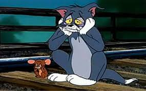 Tom And Jerry Meme - sad railroad tom and jerry blank template imgflip