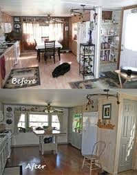 Glazing Kitchen Cabinets Before And After by Before And After Single Wide Mobile Home Remodel Diy Makeover