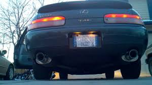 lexus sc400 blue 92 uzz30 lexus sc400 with magnaflow exhaust rev youtube