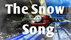 tomy thomas friends snow song 2013