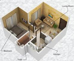 445 sq ft 1 bhk 1t apartment for sale in raghvendra group empire