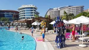 hummer limousine with swimming pool baialara hotel antalya turkey transformers at the pool youtube