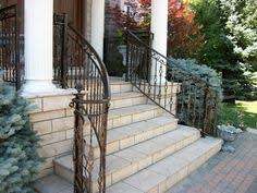 exterior exterior handrail ideas for outdoor properties carved