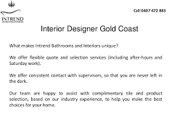 Interior Designers Gold Coast On Time U0026 On Budget Interior Designer In Gold Coast Intrend Bathroo U2026