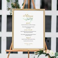 wedding bar menu template greenery wedding menu template printable bar menu reception menu