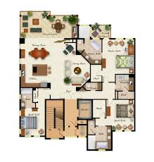 Color Floor Plan 102 Second Floor Plan Layout Playuna