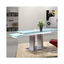 Table En Verre Avec Rallonges by Table Manger Extensible Table Console Extensible En Bois Massif