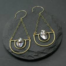 serenity earrings serenity earrings grey chroma rocks