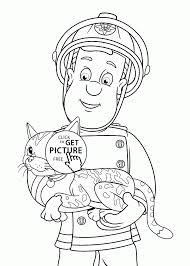 download coloring pages fireman coloring pages fireman coloring