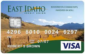 visa credit cards east idaho credit union