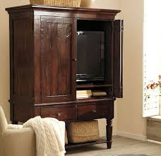 Wall Mounted Tv Cabinet With Doors Awesome Winslow Glass Door Media Stand Pottery Barn Pertaining To