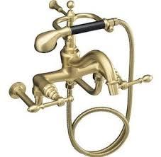 Antique Gold Bathroom Faucets Faucets U0026 Fixtures Brass Tone Bath Faucets Remodelista