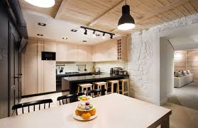 Simple Design Of Small Kitchen Modern Industrial House Design Interior Stylish Aupiais House By